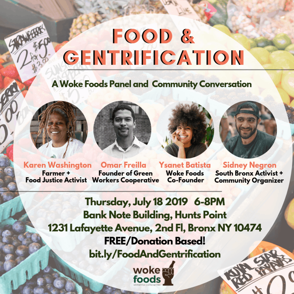 Featured Panel: Food & Gentrification in the South Bronx